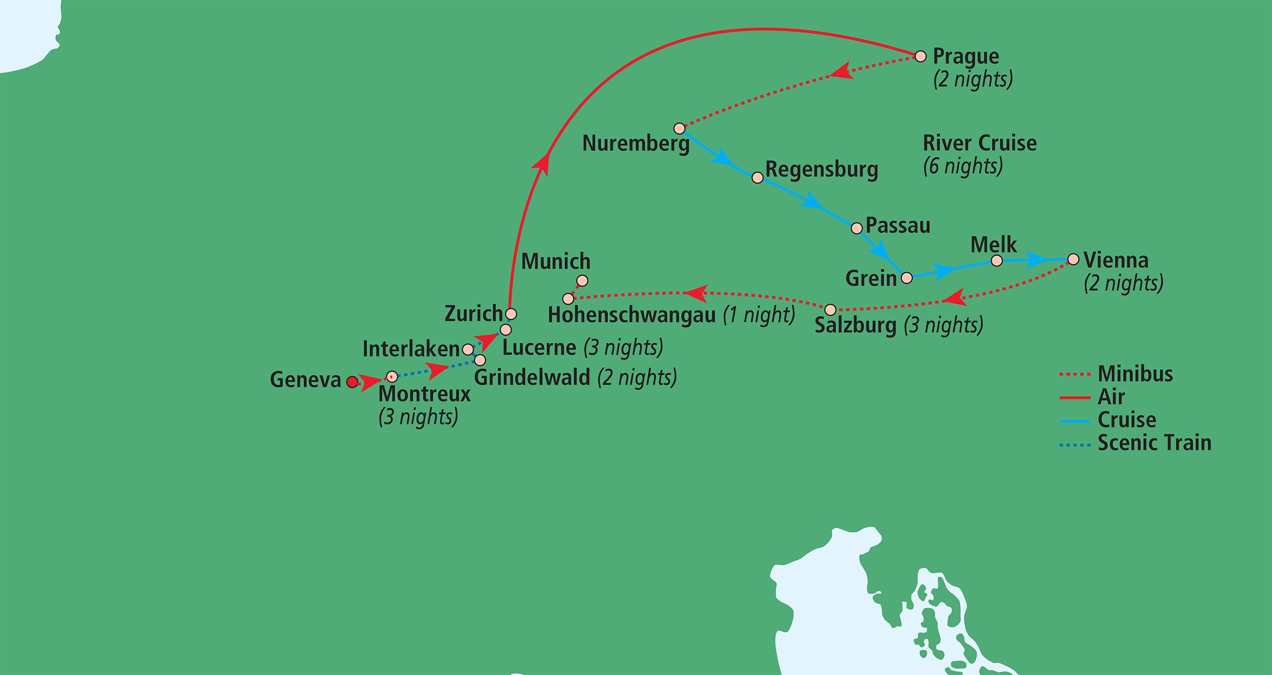Salzburg Christmas Market Map.Christmas Markets And Winter Wonderland Boutique Journeys
